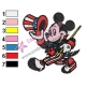 Mickey Mouse Cartoon Embroidery 73